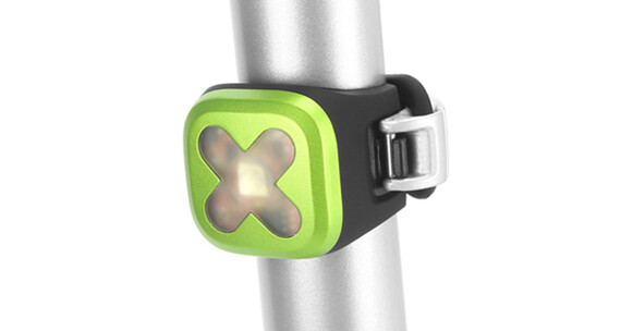 Knog Blinder 1 Rücklicht Cross rote LED green